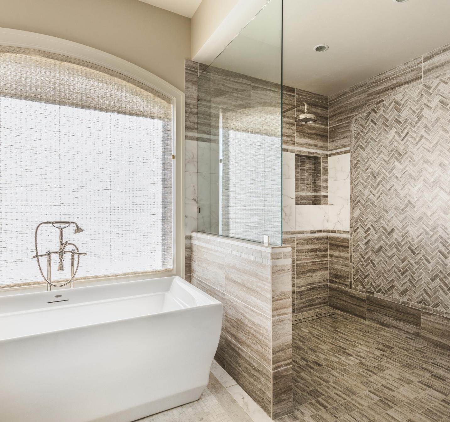 Tarnat custom homes bathroom renovation contractor for Custom bathroom renovations